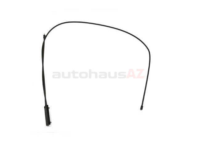 BM-51237184432 Genuine BMW Hood Release Cable; Cable to Hood Locks