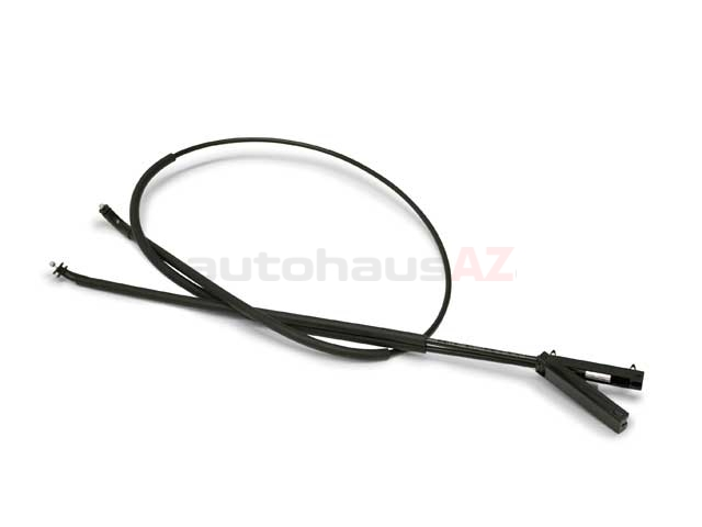 BM-51237184456 Genuine BMW Hood Release Cable; Cable to Hood Lock