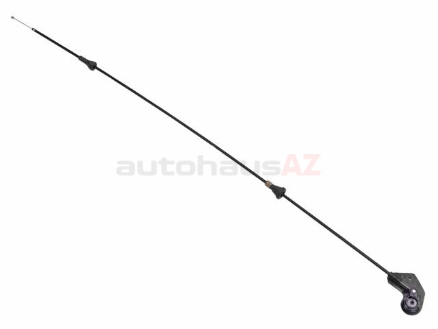 BM-51238208442 Genuine BMW Hood Release Cable; Mechanism and Cable from Handle