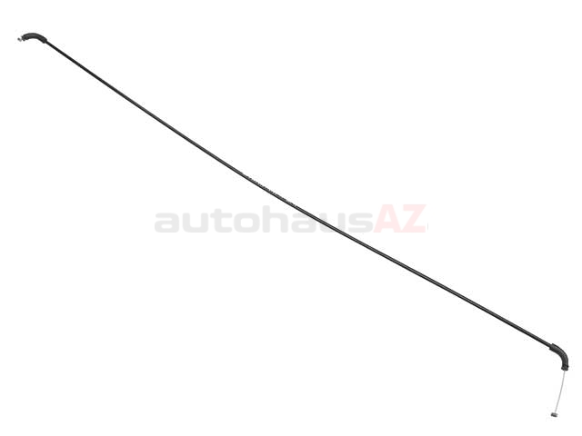 BM-51238240609 Genuine BMW Hood Release Cable; Center Bowden Cable