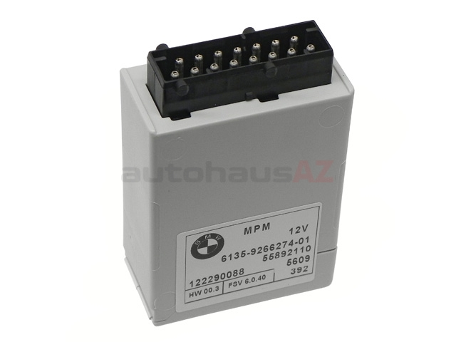 BM-61359266274 Genuine BMW Media Power Control Unit; Micro Power Module
