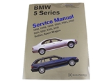 BM8000502 Robert Bentley Repair Manual - Book Version; 1997-2003 5 Series E39 Chassis; 2 Volume Set; OE Factory Authorized