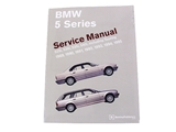 BM8000595 Robert Bentley Repair Manual - Book Version; 1988-1996 5 Series E34 Chassis; OE Factory Authorized