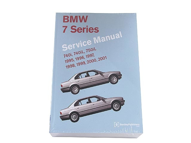 BM8000701 Robert Bentley Repair Manual - Book Version; 1995-2001 7 Series E38 Chassis; OE Factory Authorized