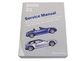 BM8000Z98 Robert Bentley Repair Manual - Book Version; 1996-2002 Z3 Roadster/Coupe including M; OE Factory Authorized