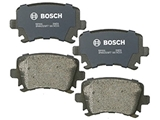 BP1108 Bosch QuietCast Brake Pad Set; Rear; OE Supplier Compound