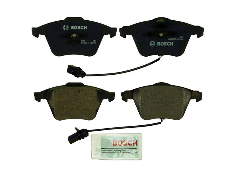 BP1111 Bosch QuietCast Brake Pad Set; Front With Sensors; OE Supplier Compound