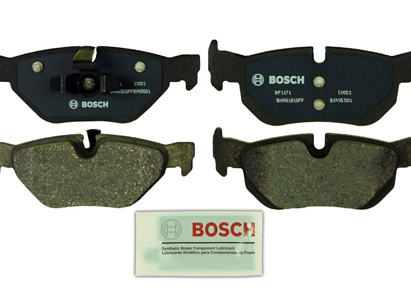 BP1171 Bosch QuietCast Brake Pad Set; Rear; OE Supplier Compound