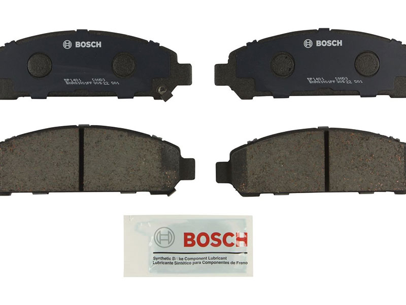 BP1401 Bosch QuietCast Brake Pad Set; Front