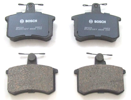 BP228 Bosch QuietCast Brake Pad Set; Rear; OE Supplier Compound