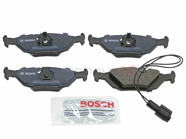 BP279 Bosch QuietCast Brake Pad Set; Rear with Sensor; OE Supplier Compound