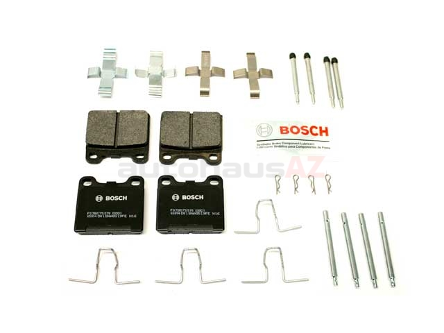 BP31 Bosch QuietCast Brake Pad Set; OE Supplier Compound