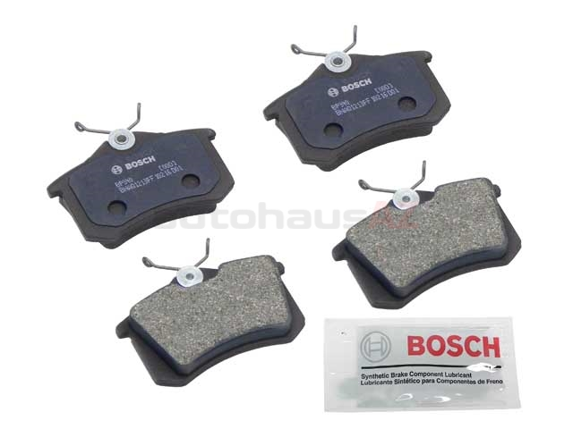 BP340 Bosch QuietCast Brake Pad Set; Rear; OE Supplier Compound
