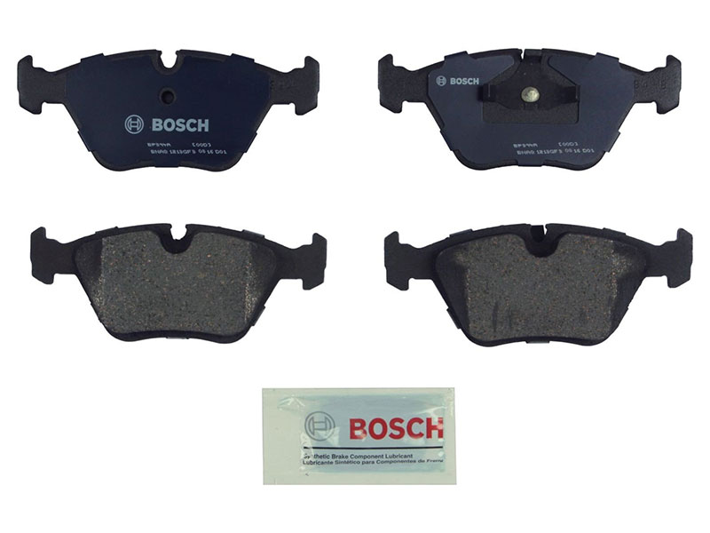 BP394A Bosch QuietCast Brake Pad Set; Front; OE Supplier Compound