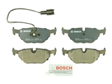 BP396 Bosch QuietCast Brake Pad Set; Rear; OE Supplier Compound