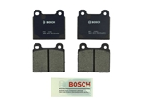 BP45 Bosch QuietCast Brake Pad Set; Front; OE Supplier Compound