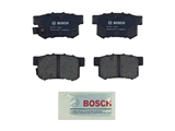 BP536 Bosch QuietCast Brake Pad Set; Rear