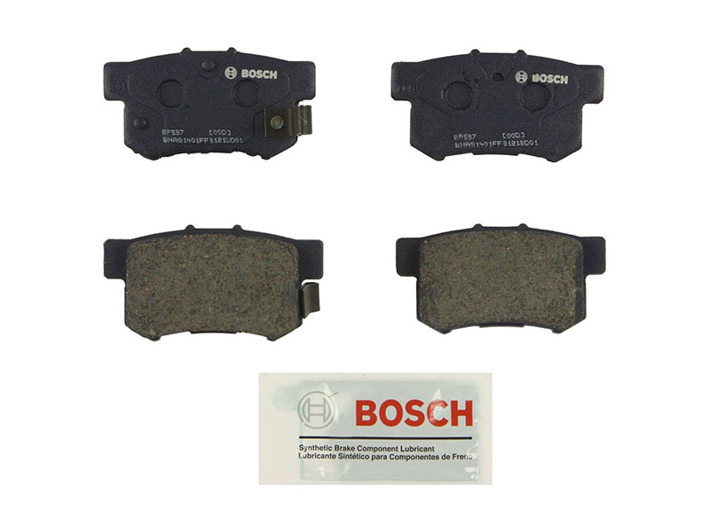 BP537 Bosch QuietCast Brake Pad Set; Rear