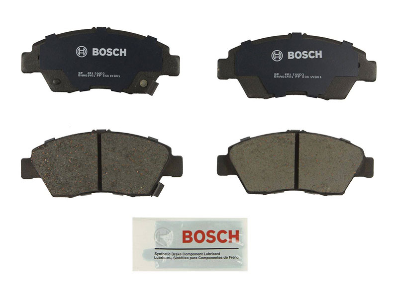 BP621 Bosch Quiet Cast Brake Pad Set; Front