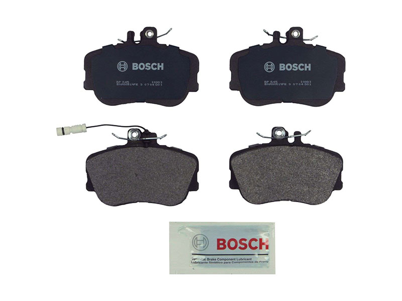 BP645 Bosch QuietCast Brake Pad Set; Front; OE Supplier Compound