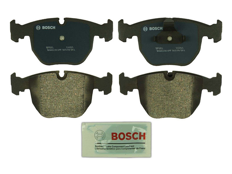 BP681 Bosch QuietCast Brake Pad Set; Front; OE Supplier Compound