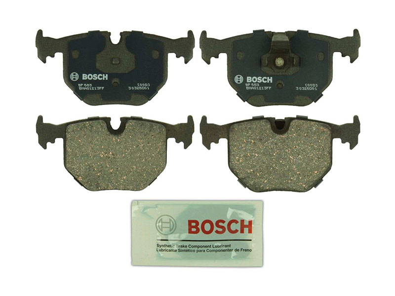 BP683 Bosch QuietCast Brake Pad Set; Rear; OE Supplier Compound