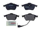 BP687A Bosch QuietCast Brake Pad Set; Front with Sensor; OE Supplier Compound