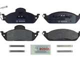 BP760 Bosch QuietCast Brake Pad Set; Front; OE Supplier Compound