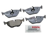 BP763 Bosch QuietCast Brake Pad Set; Rear; OE Supplier Compound