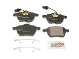 BP840 Bosch QuietCast Brake Pad Set; Front with Sensor; OE Supplier Compound