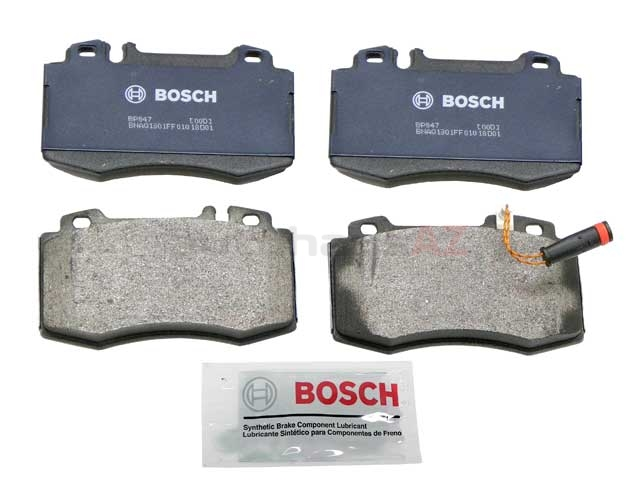 BP847A Bosch QuietCast Brake Pad Set; Front; OE Supplier Compound