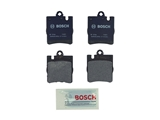 BP876A Bosch QuietCast Brake Pad Set; Rear