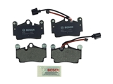 BP978 Bosch QuietCast Brake Pad Set; Rear; OE Supplier Compound