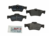 BP986 Bosch QuietCast Brake Pad Set; Rear; OE Supplier Compound