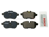 34216797861 Bosch Quietcast Brake Pad Set