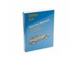 BX30 Bentley Repair Manual - Book Version; 2004-2010 X3 Series E83 Chassis; OE Factory Authorized