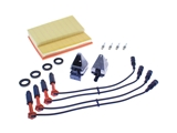 C220TUNEUPKIT AAZ Preferred Ignition Tune-Up Kit; Plugs, Coils, Wire Set and Air Filter; KIT