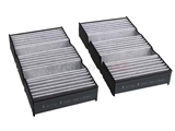 1668307201 Corteco-Micronair Cabin Air Filter Set; In Blower Housing