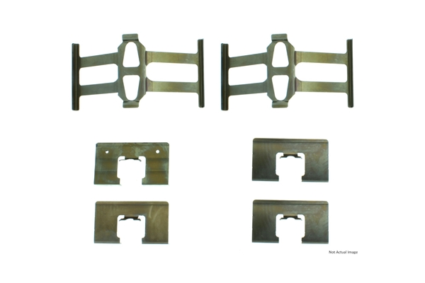 11740020 Centric Disc Brake Hardware Kit