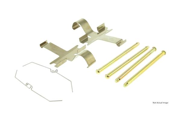 Disc Brake Hardware Kit Front Carlson 13315