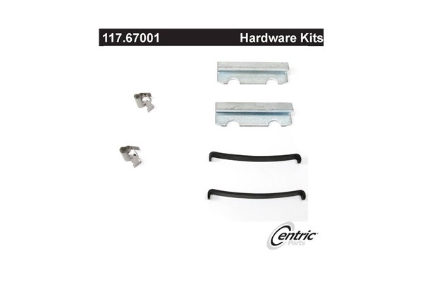 117.67001 Centric Brake Hardware Kit Front or Rear New for 3800 3900FC 4600 4700