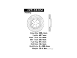 CE-12562124 Centric Disc Brake Rotor; High Carbon Alloy Brake Disc