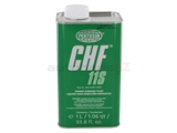 CHF11S Pentosin Power Steering Fluid; 11.S Synthetic; 1 Liter