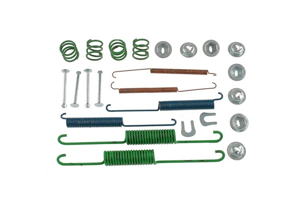 17334 Carlson Drum Brake Hardware Kit; Rear
