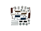 H7101 Carlson Drum Brake Hardware Kit; Rear