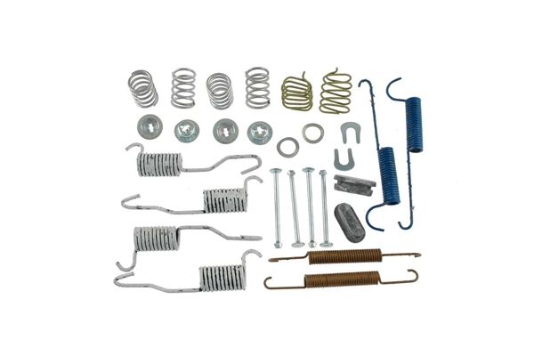 H7265 Carlson Drum Brake Hardware Kit; Rear