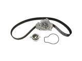 CK184LK1 Continental ContiTech Black Timing Belt Kit with Water Pump