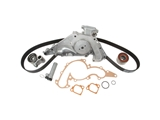 CK298LK1 ContiTech Black Engine Timing Belt Kit with Water Pump