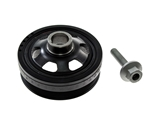 CRKPULLEY1KIT AAZ Preferred Harmonic Balancer; Front Crankshaft Pulley with Vibration Damper and Mounting Bolt; KIT