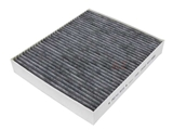 CUK2442 Mann/Delphi Cabin Air Filter; Carbon Activated